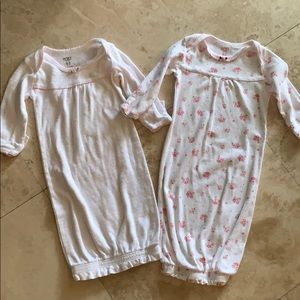 Carters Sleeper Gowns